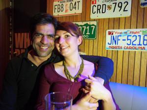 Giannis and Julia invited us to their home in Greece and spoiled us with kindness, and fun, and food. After postponing our departure our five days, when we had to part with them we were ever so sad. We can't wait to see them again after our travels. - - - - - Giannis és Julcsi serreszi otthonukban láttak minket vendégül. Az egy napra tervezett látogatásunk majdnem egy hétre nyúlt, és még akkor is szomorúak voltunk, hogy búcsút kell vennünk tőlük. Új barátokra találtunk, és alig várjuk, hogy újra lássuk őket.