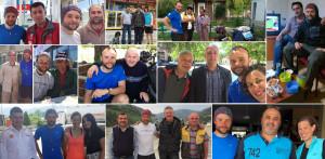 Türkiye'de geçirdiğimiz zaman boyunca birçok harika insanla tanıştık. CouchSurfing ve WarmShowers aracılığıyla bulduğumuz ev sahiplerimiz bize oldukça nazik davranarak bizi şımarttılar. Rotamız boyunca karşılatığımız herkesin yardımsever tutumları bizim için inanılmaz bir deneyim oldu. Özellikle petrol ofisi çalışanları düzenli olarak ikramlarda bulunarak güvenli bir şekilde kamp yapmamız için yer gösterdiler. Her şey için çok teşekkürler, Türkiye'de çok güzel zaman geçirdik. - - - - - During our time in Turkey we have met the most amazing people on the road. We are of course always spoiled by our CouchSurfing and WarmShowers hosts, but in this country, it was amazing to experience the kindness we get from random strangers we meet on the road. Especially the employees at the petrol stations, who fed us regularly and gave us a safe caping spot for many of our nights. Thank you all, we had a great time in Turkey! - - - - - Törökországi hat hetünk alatt rengeteg kedvességet kaptunk ismeretlen emberektől, akikkel az utunk során összetalálkoztunk. Legfőképp a kedves benzinkutasoktól, akik számtalan alkalommal megetettek minket és jópár éjszakára kínáltak biztonságos kempinghelyet az utunk során. De kaptunk zacskónyi zöldséget, gyömölcsöt, édességet ajándékba. Nagyon köszönjük, Törökország! Élmény volt itt lenni!