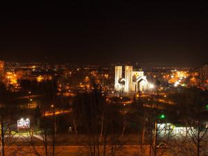 View from Boki's balkony. - - - - - Kilátás Boki erkélyéről.
